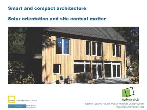 Mark Ashby 2013 Presentation on Passive House