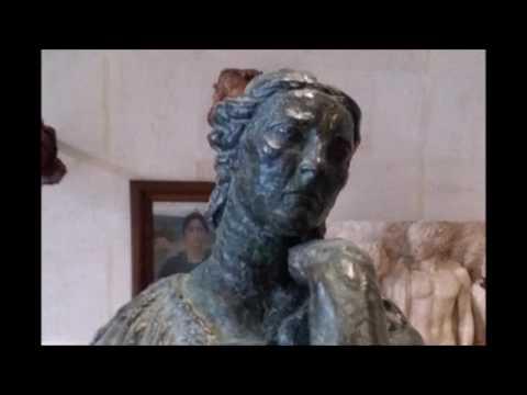 Pénélope, statue d'A. Bourdelle du Palais des Beaux-Arts de Lille, prend vie
