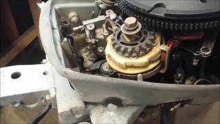 Removing an Extension Kit from a 9.9 / 15 HP Outboard