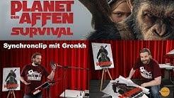 PLANET DER AFFEN SURVIVAL - Synchronclip mit Gronkh | Ab 3. August 2017 im Kino