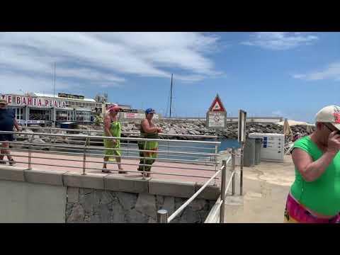 4K Gran Canaria Beach Puerto Rico Mogan Weather Today Juni Temperature 26.06.2019 Holiday Vacation