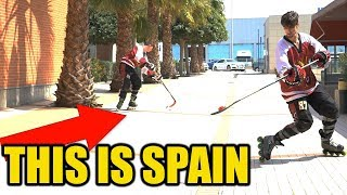 We found HOCKEY in the South of SPAIN !!!