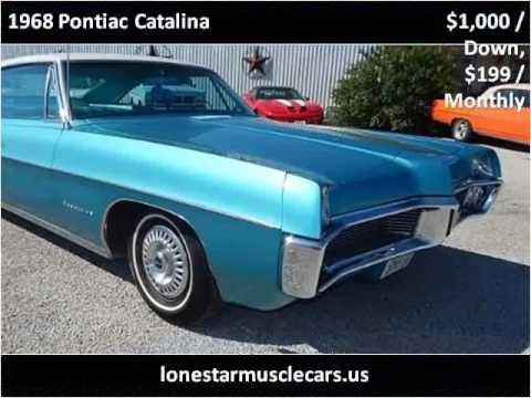 1968 pontiac catalina used cars wichita falls tx youtube. Black Bedroom Furniture Sets. Home Design Ideas