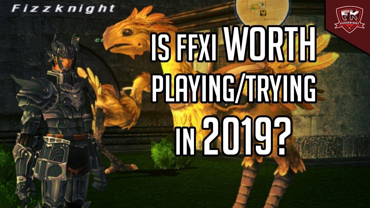 FFXI Worth playing in 2019?