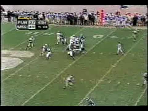 Purdue at Michigan State 2002 - Orton to Standeford
