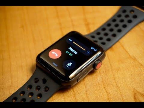 Decir a un lado Centro comercial Elástico  Apple Watch Series 3 Review (Nike+, Cellular) - YouTube