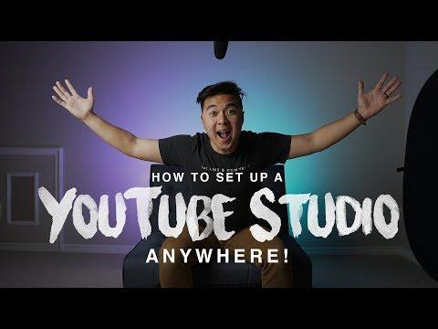 Set Up a YouTube Studio ANYWHERE!