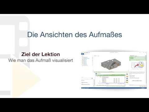 Tutorial von PriMus IFC - Die Ansichten des Aufmaßes - ACCA software thumbnail