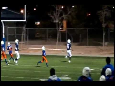 Tim Jimenez 12 Year old Beast Runningback Spring 2011