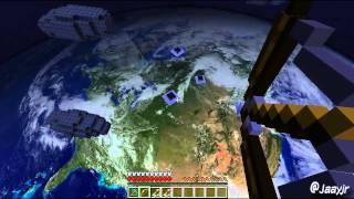 Minecraft Astromod: Primeira Vaquinha no Espaço