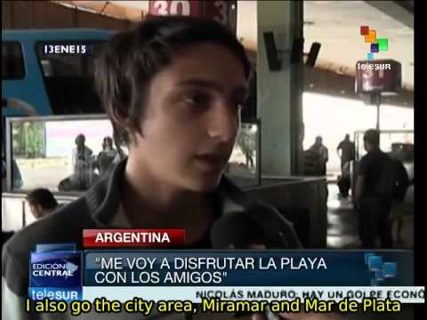Local tourism is big business in Argentina