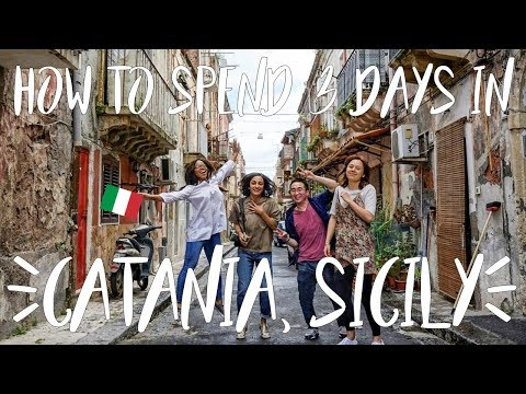 Italy Travel Vlog | How to spend 3 foodie days in Catania, Sicily - Part 1