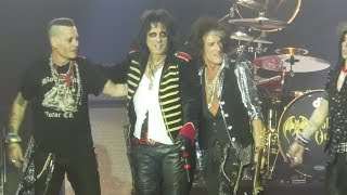 """Schools Out & Band Intros"" Hollywood Vampires@Sands Bethlehem PA Event Center 5/21/18"