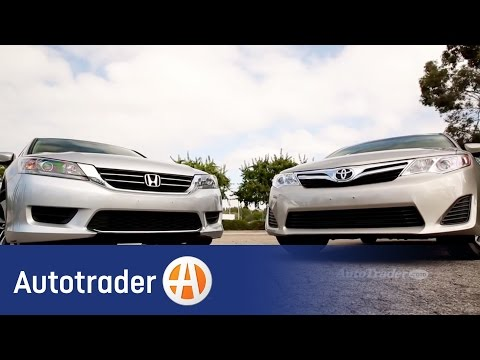 2014.5 Toyota Camry vs. 2014 Honda Accord | Comparison | Autotrader