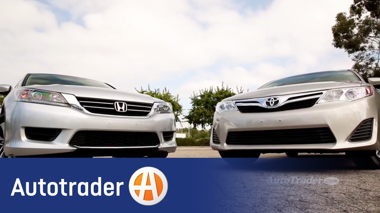 2014 5 Toyota Camry vs 2014 Honda Accord parison