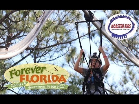 Koaster Kids at Forever Florida Zipline Adventures