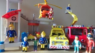 TOP 10 FIREMAN SAM Toys Inc., JUPITER, HELICOPTER, 4X4 & VENUS