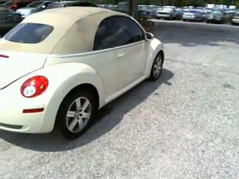 2006 Volkswagen New Beetle - Convertible - Orlando FL - Used VW