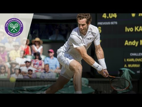 Andy Murray lobs Ivo Karlovic six times in one match