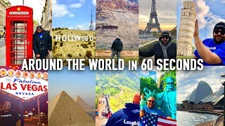 How To Travel Around The World in 60 Seconds!