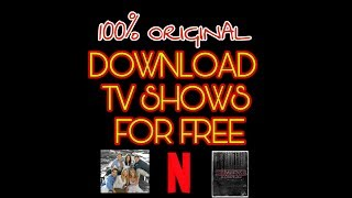Video FREE NETFLIX TV SHOWS | ANY TV SHOW | JUST A SIMPLE APP | FREE DOWNLOAD download MP3, 3GP, MP4, WEBM, AVI, FLV Juni 2018