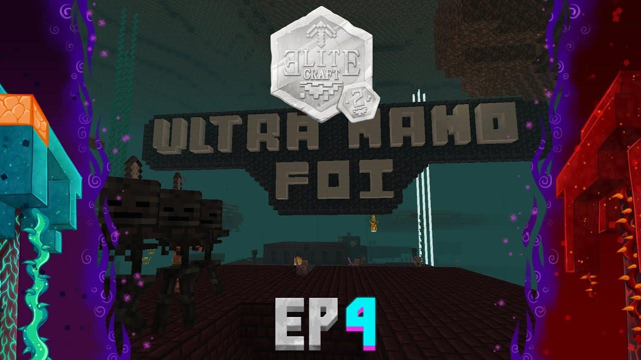 EliteCraft 2 Ep4, ULTRA NANO FOI - 13 WITHERS vs ElRichMC