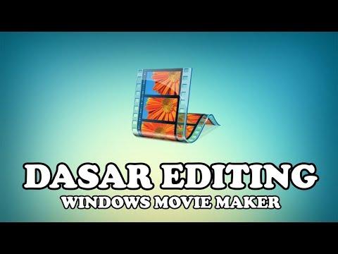 Belajar Edit Video Untuk Pemula Dengan  Windows Movie Maker.
