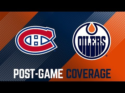 ARCHIVE | Post-Game Coverage - Oilers vs. Canadiens