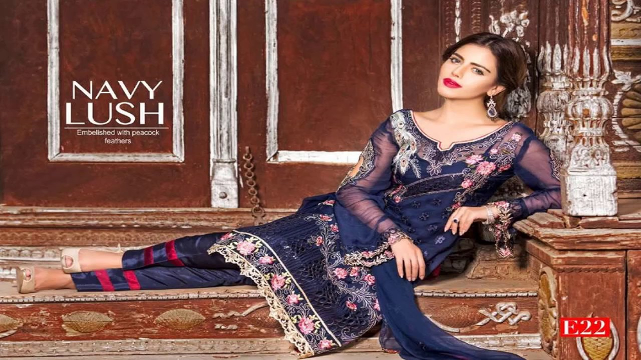 ca2652a854 Empereus Chiffon Collection By Maryam's Vol 03 2017 - YouTube