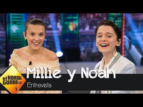 Millie Bobby Brown y Noah Schnapp demuestran sus dotes de actores - El Hormiguero 3.0
