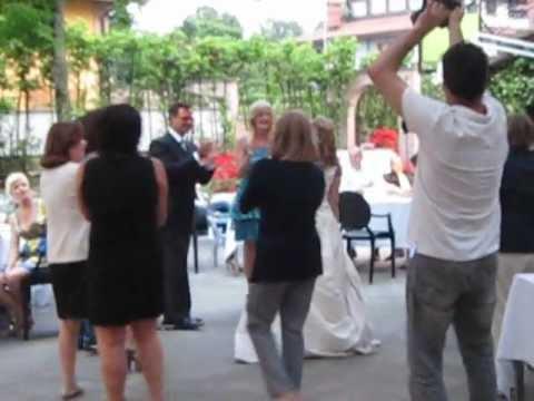 """Ballo Sposi ORO """"Vivo Per Lei"""" HOTEL RISTORANTE 700 www.iltuomatrimonio.com.avi"""