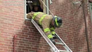 Firefighter Safety & Survival Head First Ladder Bail