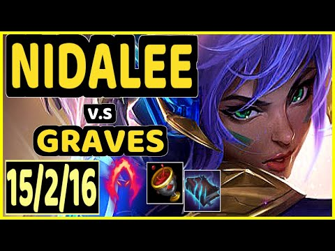 SEVENARMY (NIDALEE) vs GRAVES - 15/2/16 KDA JUNGLE CHALLENGER GAMEPLAY - EUW