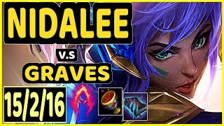 SEVENARMY (NIDALEE) vs GRAVES - 15/2/16 KDA JUNGLE CHALLENGER GAMEPLAY - EUW
