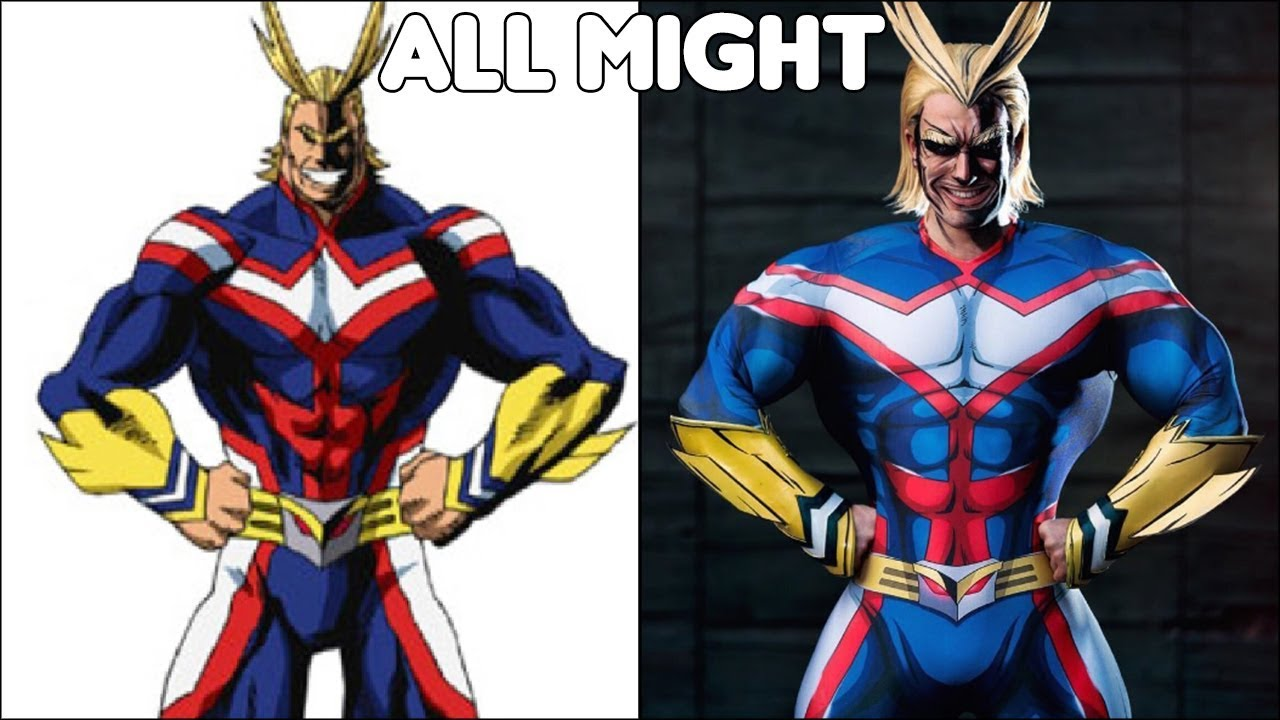My Hero Academia Characters In Real Life