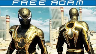 Spider-man Homecoming: BLACK IRON SPIDER Suit Free Roam - TASM 2 MOD