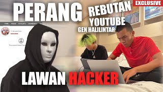 Download MENGERIKAN PERANG VS HACKER MEREBUT YOUTUBE GENHALILINTAR, ATTA HALILINTAR NGAMUK