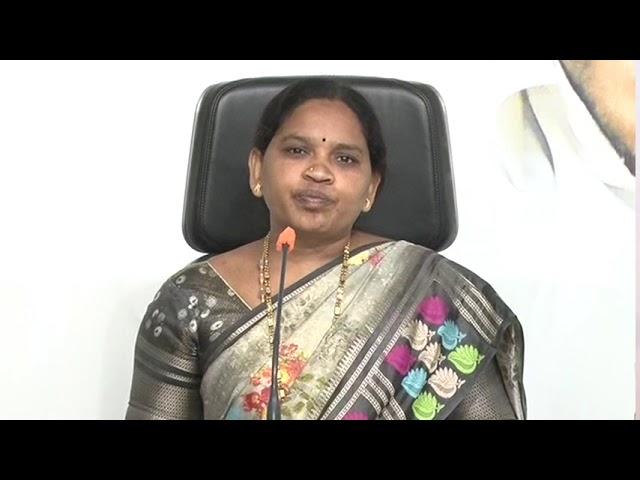 AP SC Corporation Chairperson Pedapati Ammaji Flays Babu over Cheap Politics    Tadepalli    vja