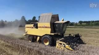 Landwirt aus Leidenschaft - Martin ENGEL bei der Getreideernte