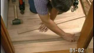 "Finishing Up the Hardwood Floor Installation - ""Laying Hardwood Floors"" Part 8 of 8"