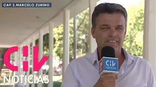 """Marcelo Zunino en Zona Mixta: """"Si no hubiese sido futbolista, sería cantante"""""""