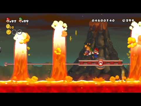 New Super Mario Bros. Wii Two-Player Playthrough - World 8