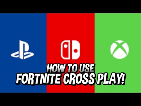 HOW TO DO FORTNITE CROSSPLAY! FORTNITE PS4 AND XBOX CROSSPLAY OUT NOW!