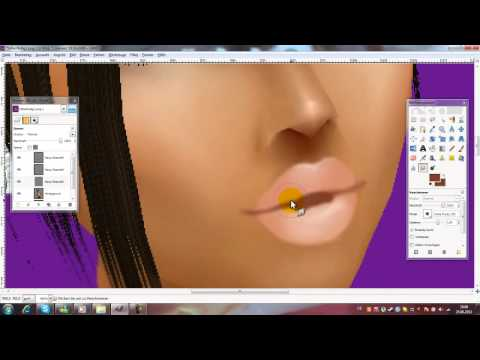 How to edit lips (quick imvu tutorial)  [HD]