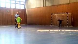 KS Hubertus Zalesie Górne - UKS 141 Warszawa Delta Cup rzuty karne 08-02-2014