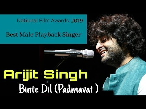arijit-singh-wins-national-award-|-binte-dil---padmavat-|-national-film-awards-2019