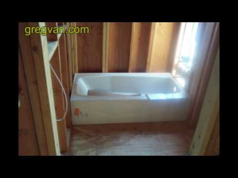 Bathtub Framing Tip - Advanced Carpentry Techniques and Tips for Home Builders