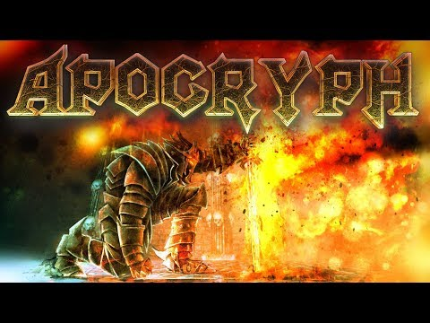 Apocryph an old-school fantasy shooter such as Hexen, Heretic, Painkiller and Strife..