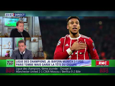 After Foot du mardi 05/12 – Partie 2/4 - Débrief de Bayern Munich/PSG (3-1)