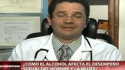 Cómo afecta el alcohol al desempeño sexual
